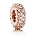 Charm 925 - Rose Gold Spacer Inspiration Within