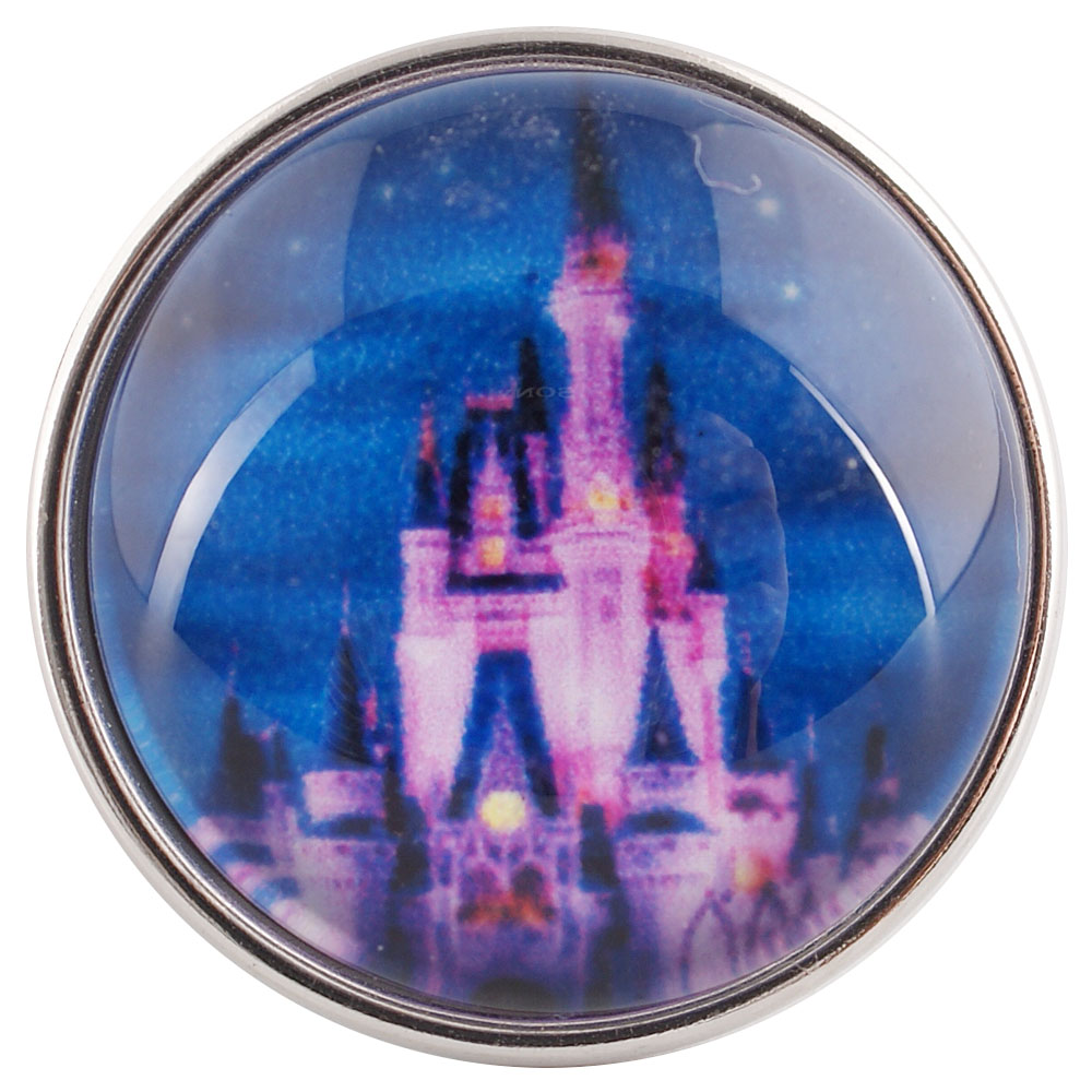Snap Glass Jewelry - Castle
