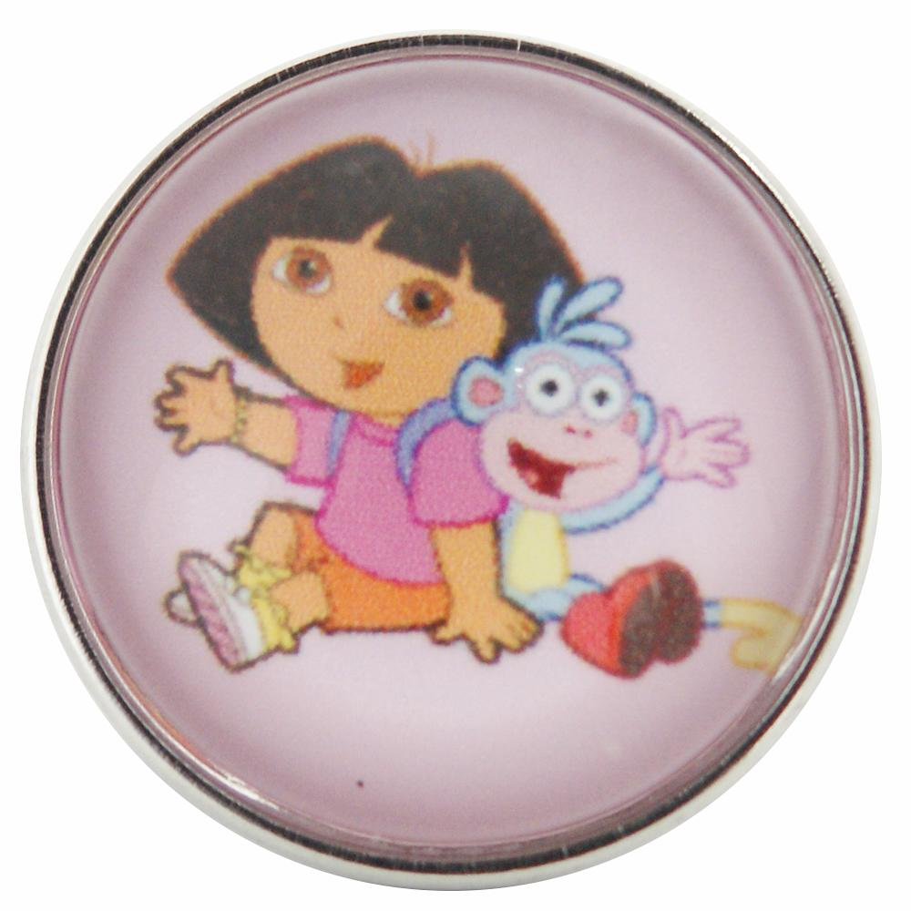 Snap Glass Jewelry - Cartoon