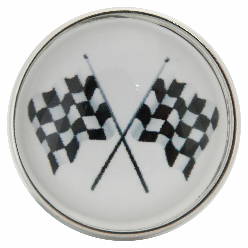 Snap Glass Jewelry - Racing