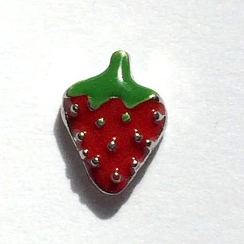 Memory Locket Charms Starwberry