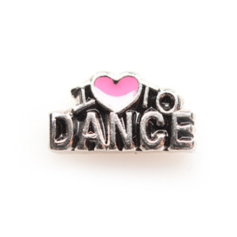 Memory Locket Charms I Love to Dance