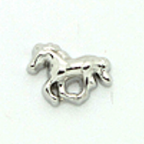 Memory Locket Charms Horse