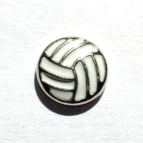 Memory Locket Charms Volleyball