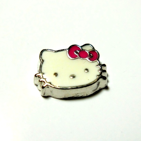 Memory Locket Charms Hello Kitty Pink Bow
