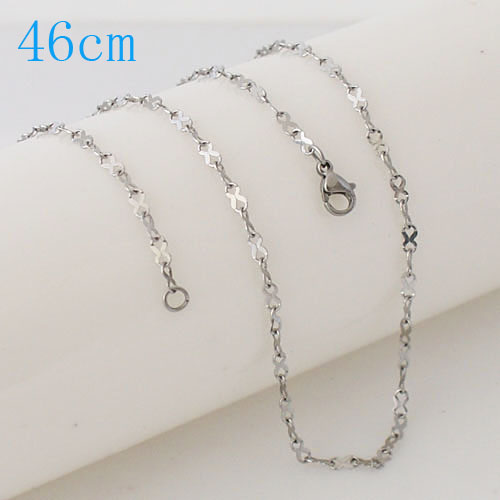 Stainless Steel Ribbon Chain - 18""