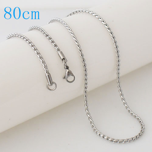 Stainless Steel Spiga Rope Chain - 32""