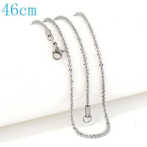 Stainless Steel Roc Chain - 18""