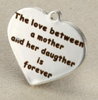 Quotes Stainless Heart - The Love between Mother & Daughter