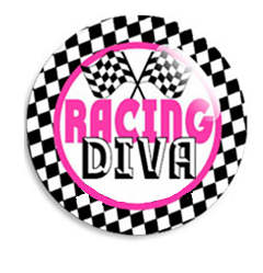 Snap Glass Jewelry - Racing Diva