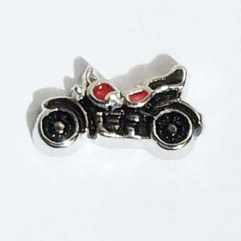 Memory Locket Charms Motorcycle