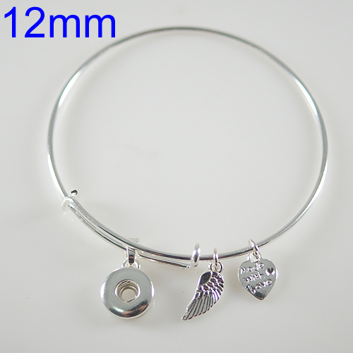 Mini Snap 12mm - Bangle Alex and Ani Inspired