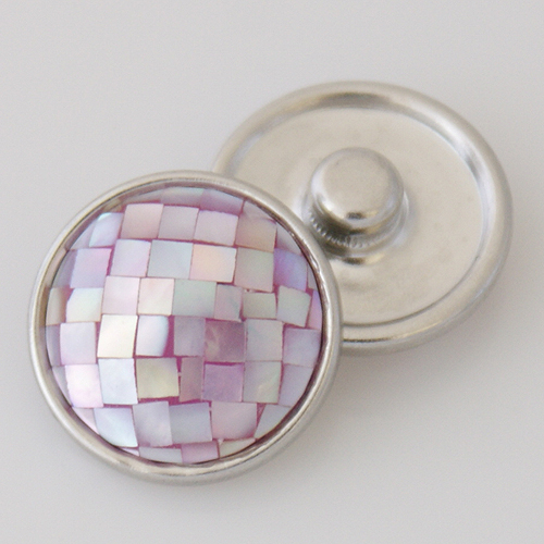 Snap Jewelry Abalone - Lavender
