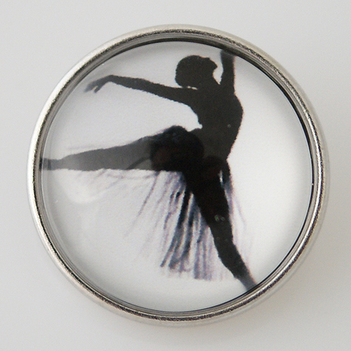 Snap Jewelry Glass - Ballet Dancer