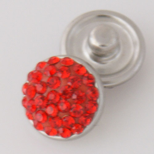 Mini Snap 12mm - Crystal Red