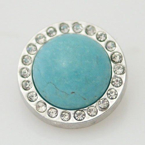 Snap Jewelry Gemstone - Turquoise