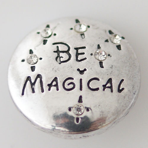 Snap Jewelry Metal - Be Magical