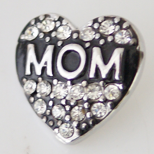 Snap Jewelry Rhinestone - MOM