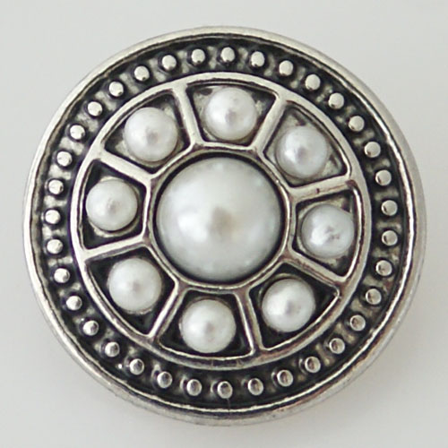 Snap Jewelry Pearl - Rasied Dot