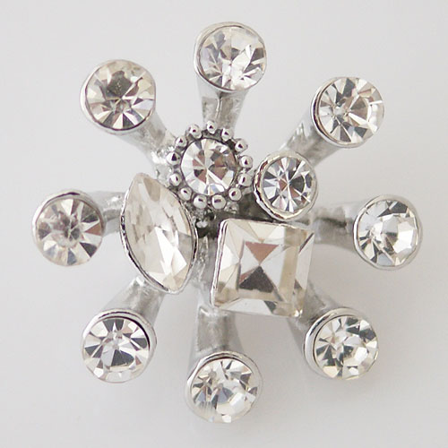 Snap Jewelry Rhinestone - Clear