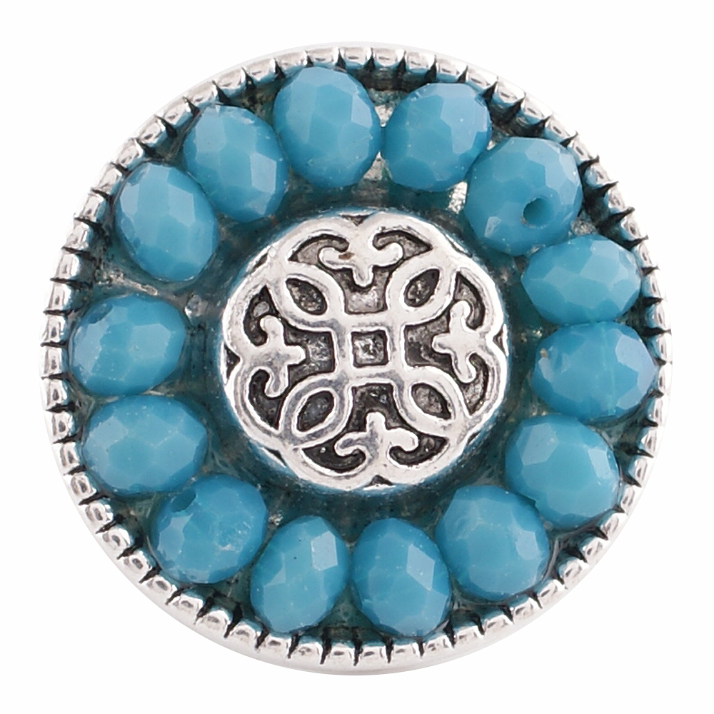 Snap Jewelry Gemstone - Blue