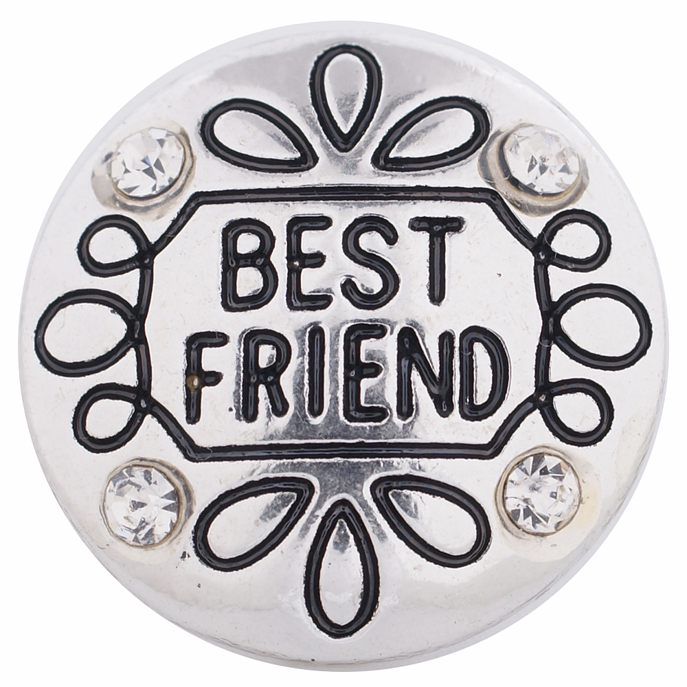 Snap Jewelry Metal - Best Friends