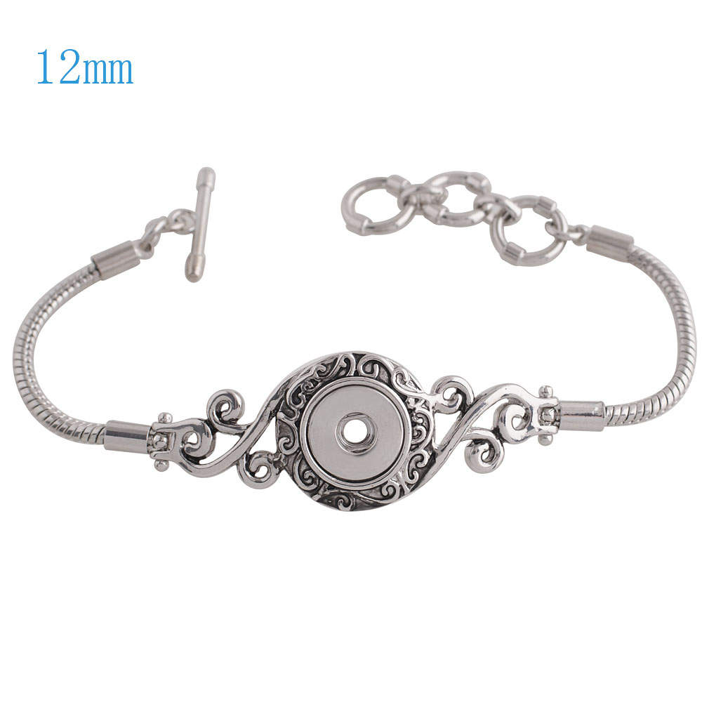 Mini Snap 12mm - Bracelet Toggle Designer 1 Snap