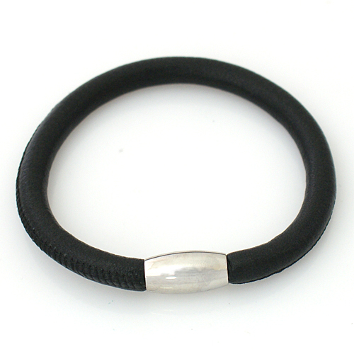 End Less Bracelet Magnetic Black - 20CM 8 inch