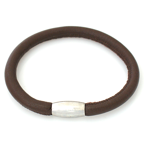 End Less Bracelet Magnetic Brown - 20CM 8 inch