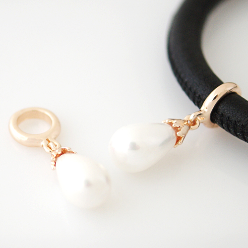 End Less Pearl Charms Drop - Rose Gold