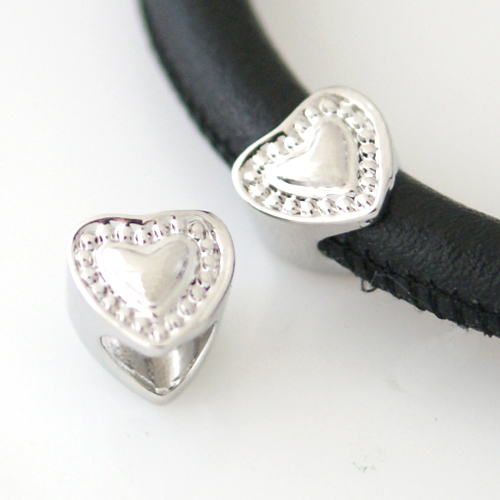 End Less Metal Charms - Silver Heart