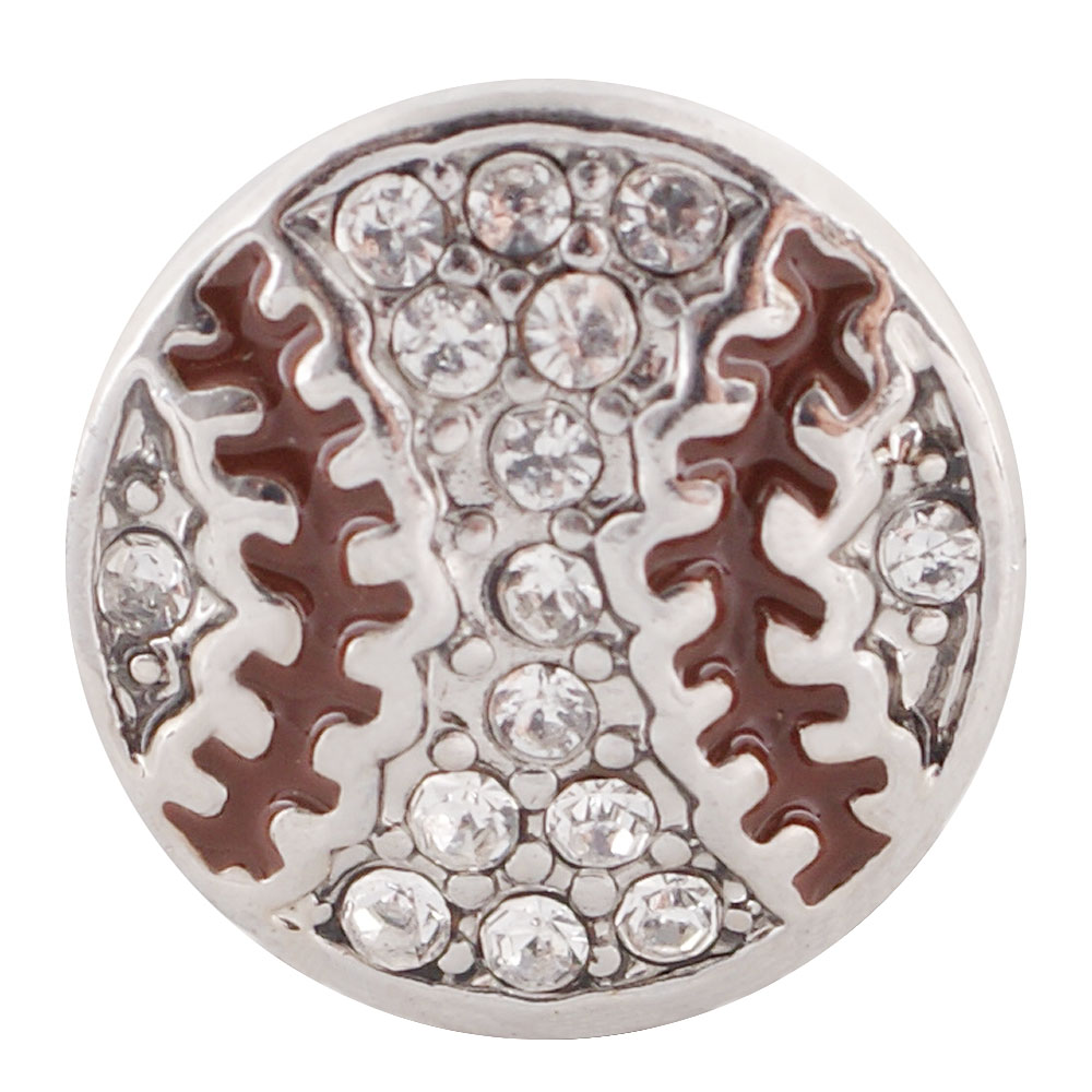 End Less Rhinestone Charms - Sport Baseball