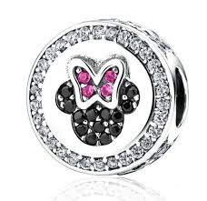 Charm 925 - Silver Mouse Sparkling Icon