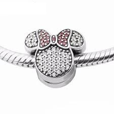 Charm 925 - Pave Mouse