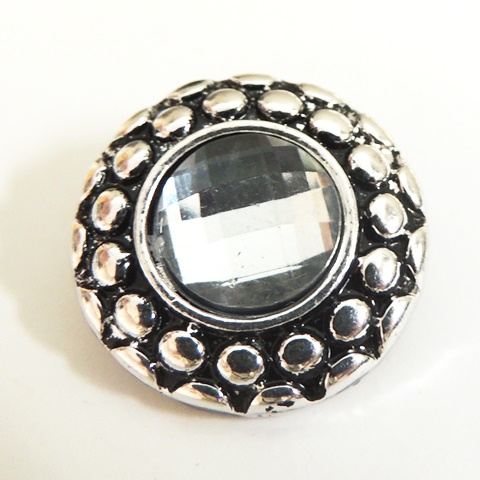 Snap Jewelry Rhinestone - Designer Raised
