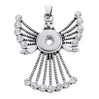 Snap Jewelry Pendant - Holiday Angel