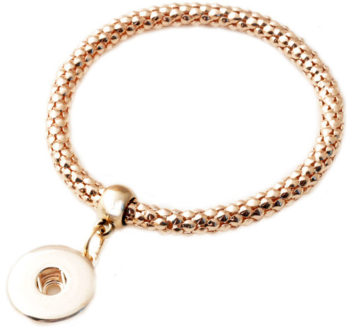 Snap Jewelry Roll on Twist Cable - Single Rose Gold