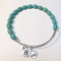 A&A Inspired Beaded Bracelet - Turquoise