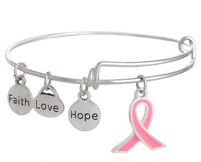 A&A Bracelet - Pink Ribbon Awareness