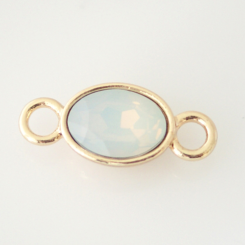 Versatile Charm - AB Oval Gold