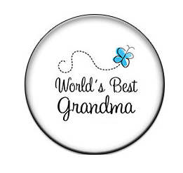 Snap Glass Jewelry - World's Best Grandma