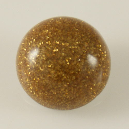Snap Jewelry Resin - Dome - Gold Dust