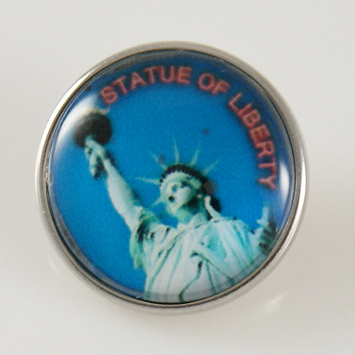Snap Jewelry Photo - Statue of Liberty