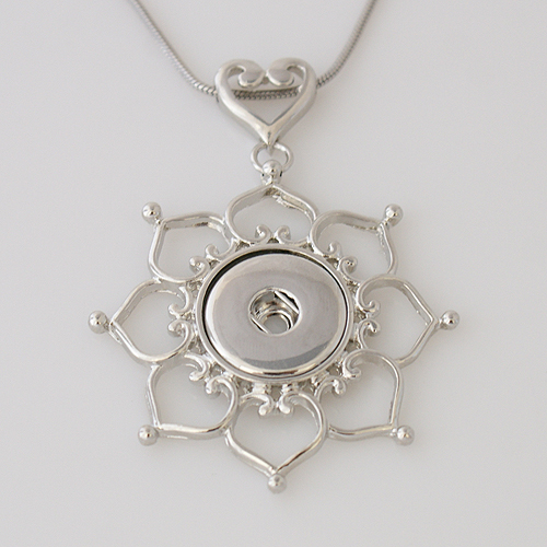Snap Jewelry Pendant - Open Sun