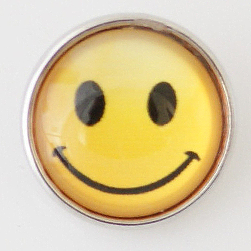 Snap Jewelry Photo - Smiley Face