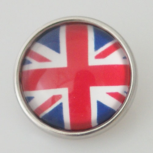 Snap Jewelry Photo - Flag - Great Britian