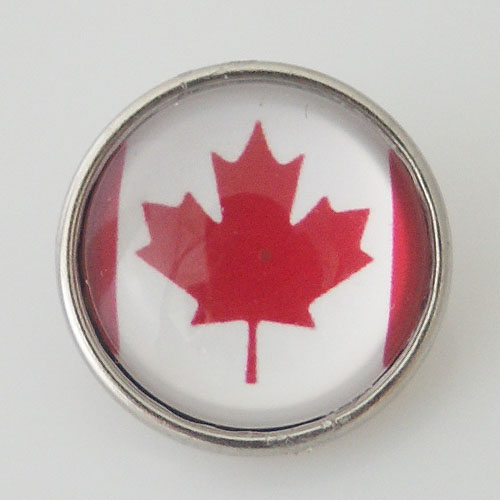 Snap Jewelry Photo - Flag - Canadian