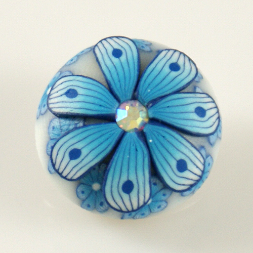 Snap Jewelry Clay - Flower Light Blue