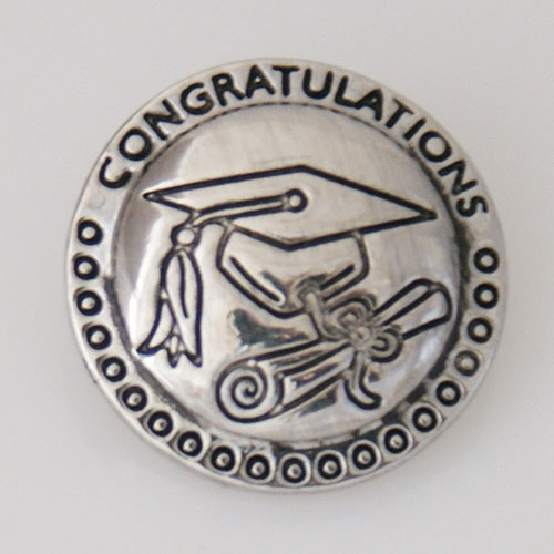 Snap Jewelry Metal - Graduation