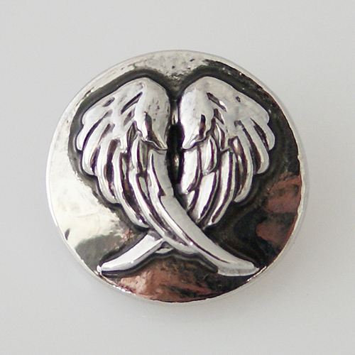 Snap Jewelry Metal - Angels Wing